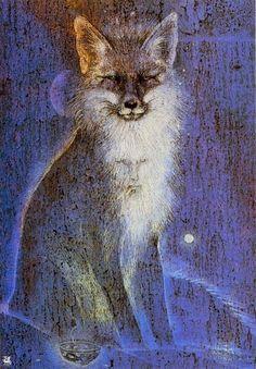 Fox ~ artist Susan Seddon Boulet
