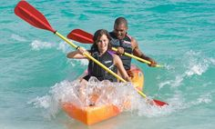 Enjoy complimentary non-motorized water activities at Turtle Beach Resort,Barbados.