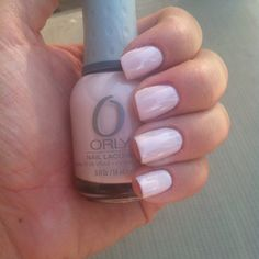 Just painted my nails with Orly Kiss the Bride, love it!