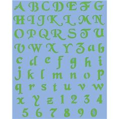 from hobby lobby show offs 12 upper lower case alphabet stencils simple