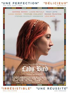 "Lady Bird is a witty coming-of- age drama set in Sacramento, California. The eponymous ""Lady Bird"" (Saoirse Ronan) who's given name . See Movie, Movie Tv, Movie List, Movie Reels, Movie Scene, Movies To Watch, Good Movies, Movies Free, Em Breve Nos Cinemas"
