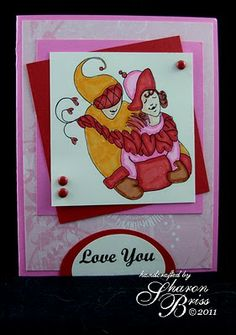 Snow Hugs Card  by Sharon Briss using RRD's Snow Hugs collection