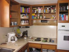 Kitchen Cabinet Boxes No Doors