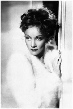 Marlene Dietrich bedroom eyes