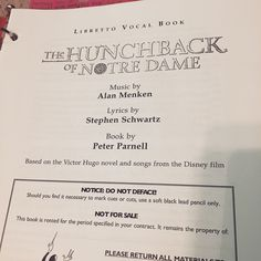 I am so grateful and blessed to have been cast in the Nevada All-State pilot production of the Hunchback of Notre Dame. This is the most beautiful, incredible show I've ever performed; I can't believe I get to help bring this story to the world.