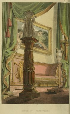 EKDuncan - My Fanciful Muse: Regency Era Curtains - Ackermann's Repository