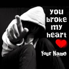 Sad alone boy wallpapers images with quotes You Broke My Heart, You Broke Me, Sad Heart, My Heart Is Breaking, Alone Boy Wallpaper, Boys Wallpaper, Broken Heart Pictures, Broken Heart Wallpaper, Suffering Quotes