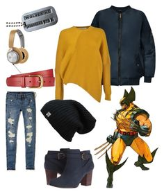 """""""WOLVERINE"""" by elysse-florence-bennett on Polyvore featuring Wolverine, Hollister Co., Cole Haan, WearAll, STELLA McCARTNEY, John Lewis and B&O Play"""