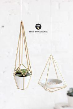 » DIY KIT | Brass Himmeli Hanger