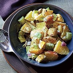 From Cooking Light Magazine -- Creamy Potato Salad Recipe recipes