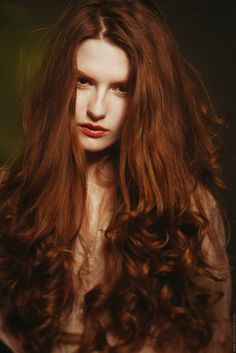 Always wanted long red hair with curls - the beauties in paintings of Titian or Pre raphaelites