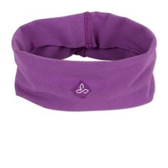 Women's Organic Headband- The prAna Womens Organic Headband is a stretchy, lightweight, 90% organic cotton headband ready to keep sweat and hair off your face. It's ideal for climbing, yoga, and cross-training.