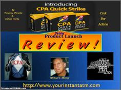 Don't Buy CPA Quick Strike by Tim Miranda-CPA Quick Strike Review
