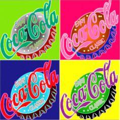 coca cola - pop art