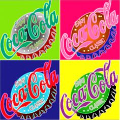 coca cola - pop art
