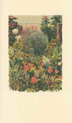 An Island Garden, Celia Thaxter