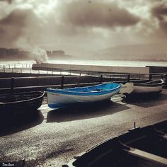 """""""Puerto Viejo Getxo"""" by Donibane"""