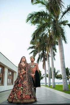 This Surat Wedding Used a Red and Black Color Palette Indian Wedding Planning, Indian Weddings, Black Color Palette, Groom Wear, Wedding Background, Wedding Card Design, Couple Shoot, Wedding Blog, Bridal Dresses