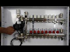 Отопление дома Коллекторный шкаф для тёплого пола Готовое решение для отопления - YouTube Heating Systems, Youtube, Youtubers, Youtube Movies