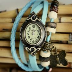 Teal Wrap Watch