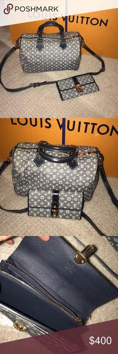 Designer inspired bag 2 piece set speedy/wallet Like new gorgeous designer inspired bag and wallet top quality mirror image Bags Hobos