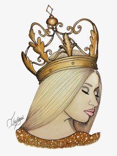 Imagem de nicki minaj, Queen, and drawing