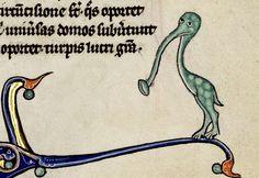 trumpet noseBible, France ca. 1270-1290. Bibliothèque d'Agglomération de Saint-Omer, Ms. 5, fol. 246r