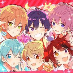 すとろべりーぷりんす「すとろべりーすたーと」インタビュー 個性豊かな6人が声を合わせる「すとろべりーすたーと」 (2/3) - 音楽ナタリー 特集・インタビュー Kawaii Chibi, Cute Anime Chibi, Cute Anime Boy, Anime Art Girl, Anime Boys, Anime Drawing Styles, Anime Friendship, Japanese Illustration, Anime Best Friends