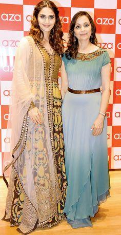 Vaani Kapoor and Dr. Alka Nishar at the Aza store launch in Bandra. #Bollywood