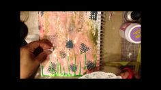 Art Journal Tutorial - Garden