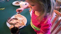Watch dad dazzle daughter with Disney princess pancakes