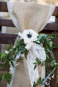Country Burlap Wedding Inspiration