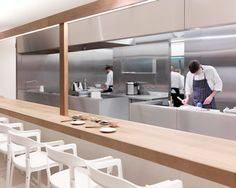 Restaurant Dos Palillos by Ronan and Erwan Bouroullec.