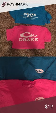 Drake tshirts Two drake tshirts. Never worn. Size medium Drake Tops Tees - Short Sleeve
