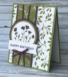 Stampin Up Background Bits Big on Birthdays Merry Little Christmas DSP TTTC011 Birthday card ideas Michelle Gleeson Stampinup SU