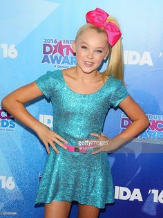 JoJo Siwa attends the 2016 Industry Dance Awards and Cancer Benefit Show on August 17, 2016 in Hollywood, California.