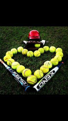 Softball love <3