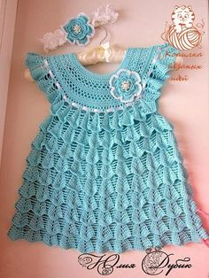 FREE CROCHET INFANT DRESS - Crochet Free