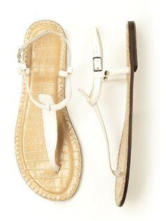 T-Strap Sandal http://www.dessy.com/accessories/t-strap-sandal/