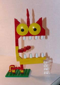 I loved the Lego Movie and especially Unikitty when she totally loses it. In the video game for the film, you get to play as her enraged. I had to have her! Apparently you can't buy her in this for...