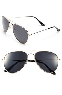 b5fccab7a5 Blenders Eyewear  Entrada - A Series  63mm Polarized Aviator Sunglasses  available at  Nordstrom