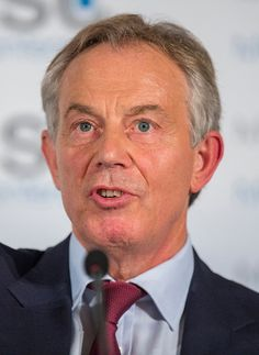 """Tony Blair has given his backing"""" to Ed Miliband and described the Conservative plans for an EU referendum a """"huge distraction"""". David Kelly, Labor Rights, Tony Blair, British Prime Ministers, British Government, Nobel Peace Prize, Iraq War, British Invasion, Political Views"""
