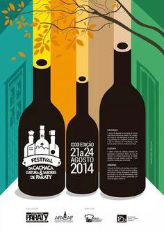 XXXII Festival da Cachaça em #Paraty - Agosto de 2014