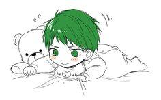 Kagami Vs Aomine, Midorima Shintarou, Chibi Boy, Cute Chibi, Anime Bebe, Baby Sketch, Generation Of Miracles, Anime Child, Kuroko's Basketball