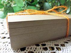 50 Count 5x7 Kraft Chipboard Paperboard Blanks  by ThePackageHouse, $6.00