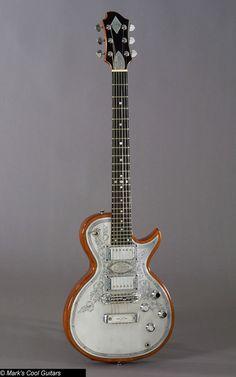 Zemaitis Metal Front Guitar
