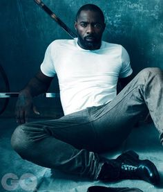 Hot Guys In Plain White Ts- Idris Elba