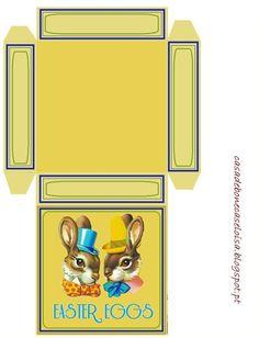 Easter miniature - printable Easter Egg box