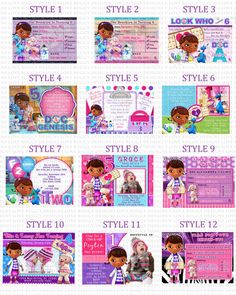 free printable Doc McStuffins Invitations birthday party