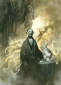 Paintings   The Art of Mike Mignola